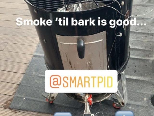 UDS smoker smartPID BBQ easy controller