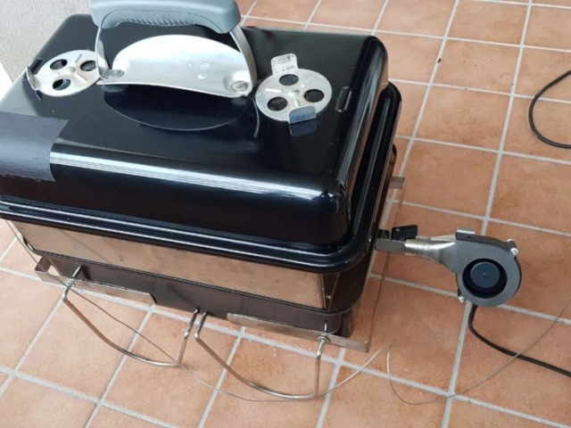WGA smartpid weber BBQ controller