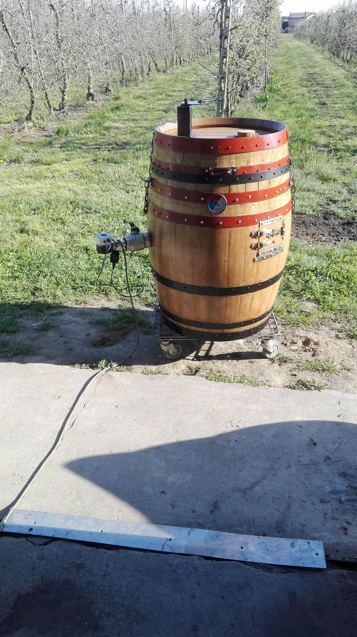 barrel smoker UDS smartpid BBQ easy controller