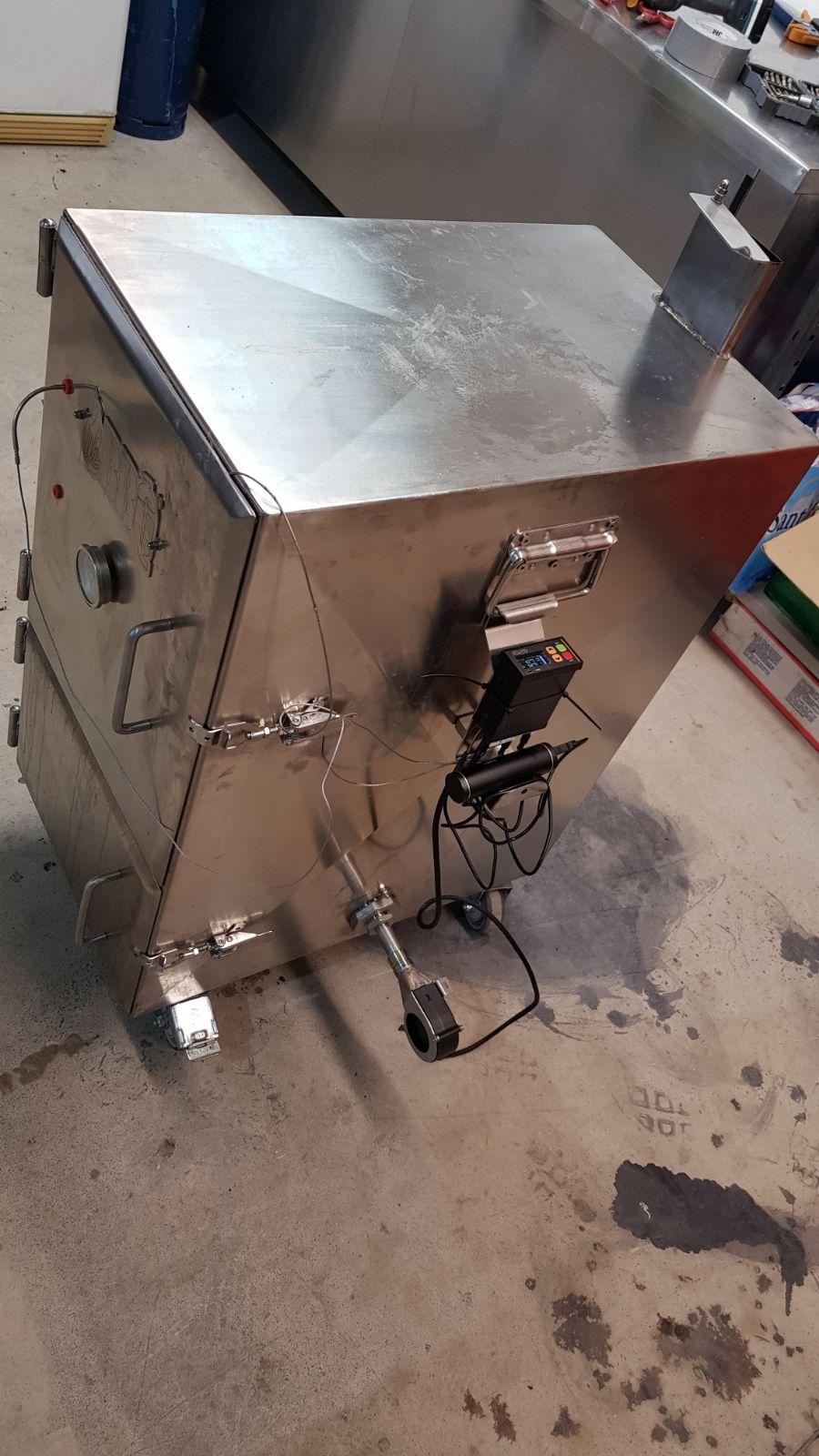 bbq cabinet smartpid controller smoker